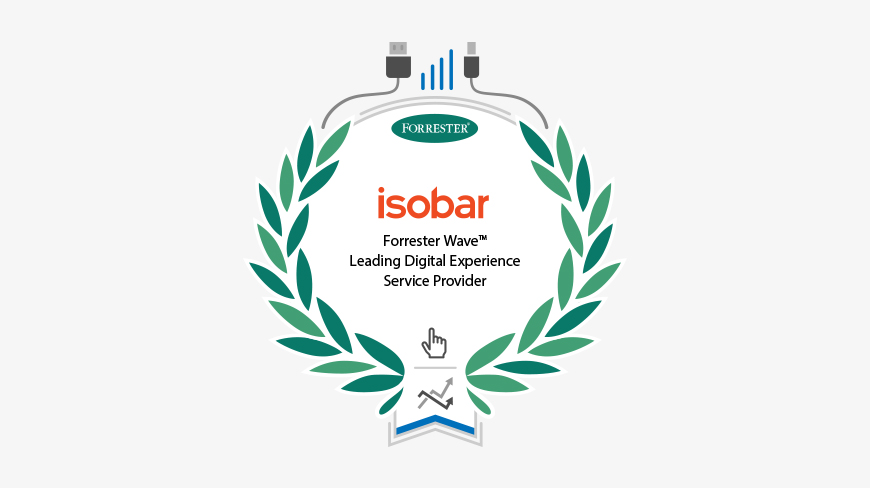 Forrester Research has placed Isobar as Leader in Digital Experience