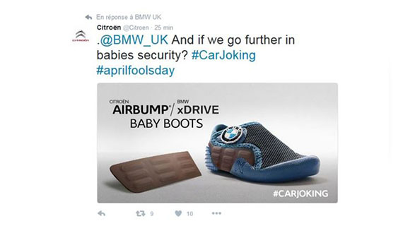 For April Fools, Citroën puts a twist on advertisers' social media hoaxes with Isobar
