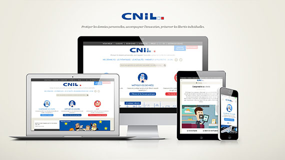 The CNIL launches its new website with Isobar