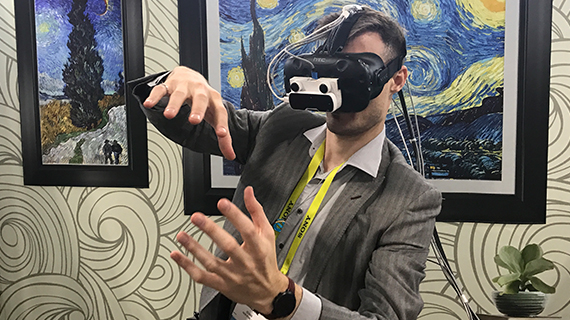 The Future Of VR In The Back Rooms Of CES