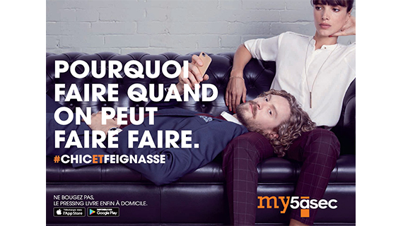 #CHICETFEIGNASSE : Launch campaign designed by Isobar for the new app my5àsec.