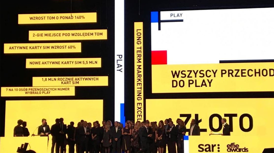 Isobar Poland with Effie Award 2016 Grand Prix