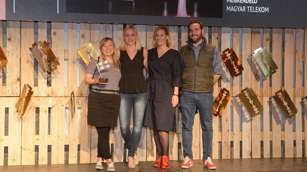 Four Wins at Arany Penge 2017 Creative Awards