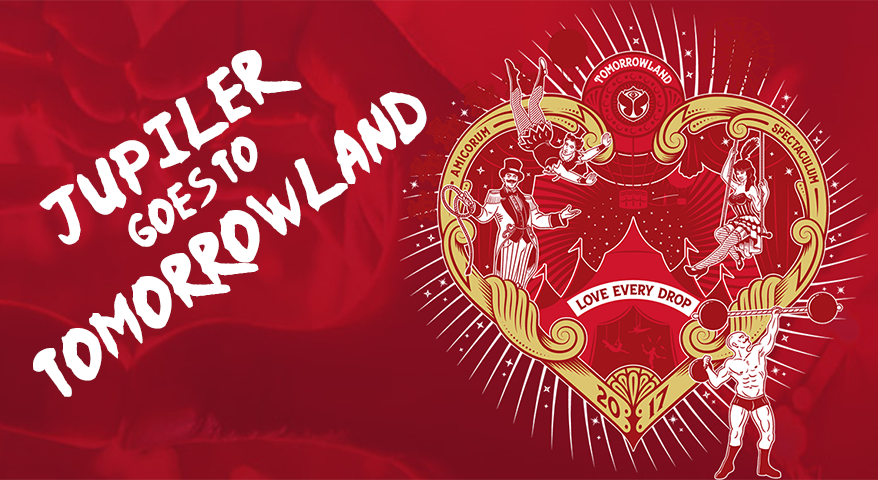 Jupiler goes to Tomorrowland