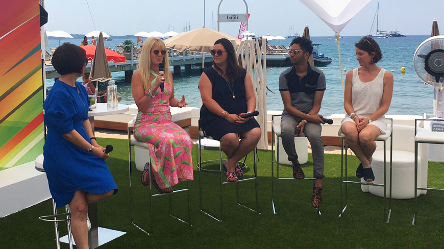 DAN Cannes Facebook & GM panel Confirms Collaboration as key to Creativity