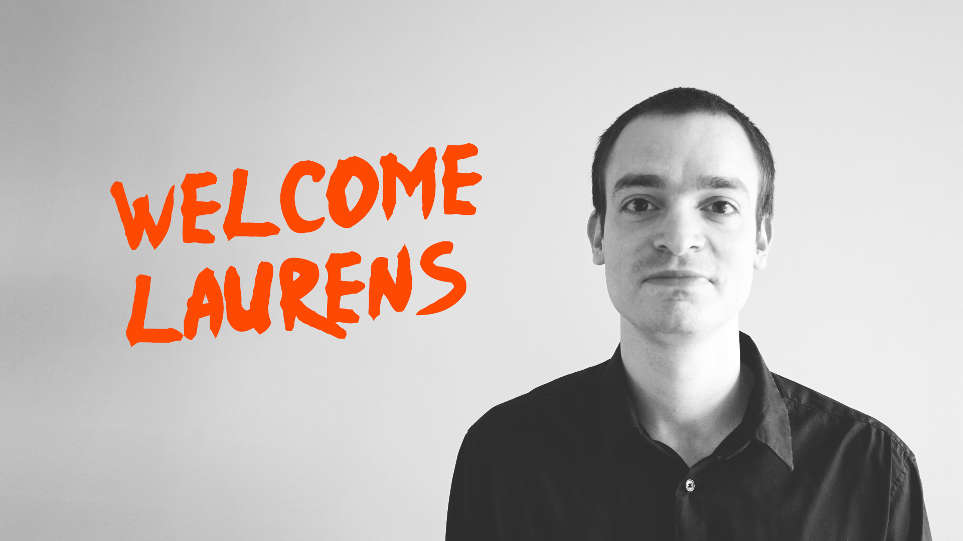 Meet Laurens, our new Web Developer!