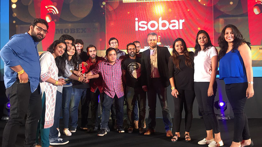 Isobar India Scoops Mobexx Awards Haul