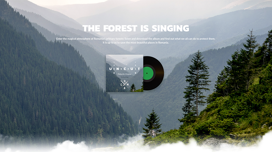 Isobar and Greenpeace use music to protect Romania's forests