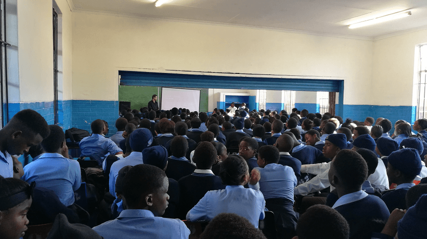 Realogile High School Career Guidance Day