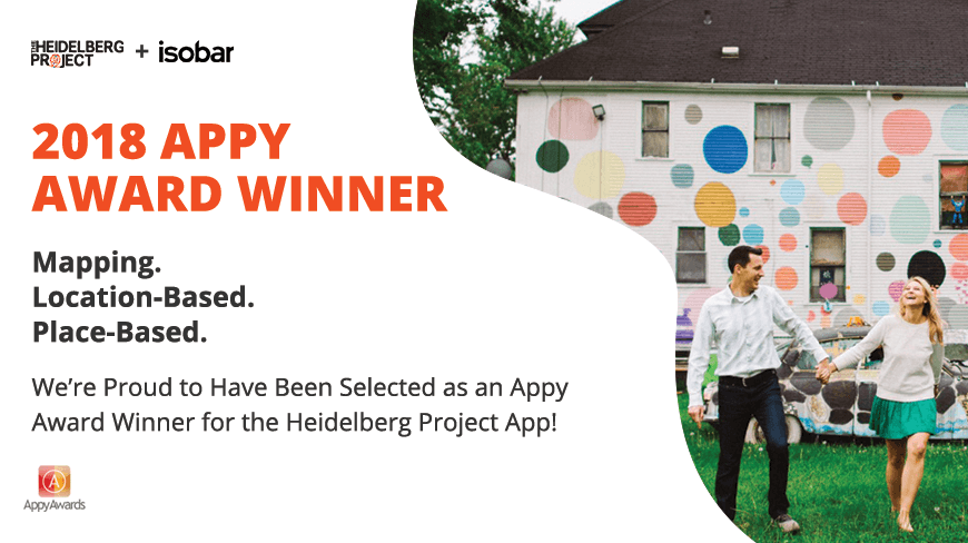 Isobar Wins MediaPost 2018 Appy Award for Heidelberg Project App