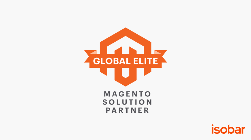 Isobar Commerce Designated with Magento Global Elite Partner Status