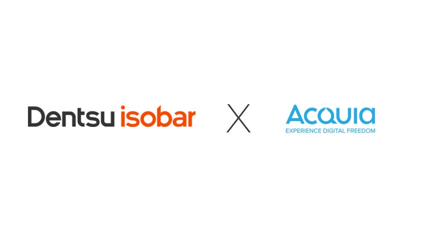 Dentsu Isobar and Acquia Announce Partnership