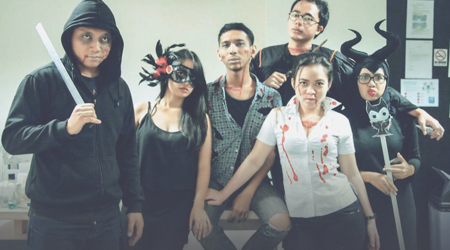 What a Crazy Halloween Party at Isobar Indonesia