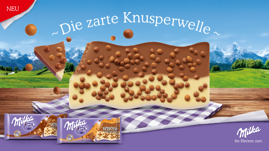 Isobar wins Milka and launches 360 degree campaign in Austria and Germany