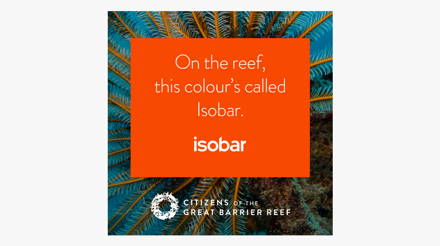 WiTH Collective - Linked by Isobar Launches 'Unite for the Reef'
