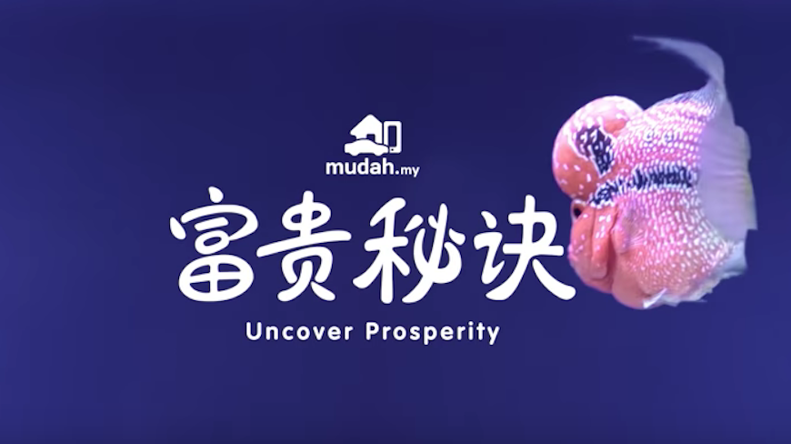 Isobar Cheekily Gives Lucky Numbers in CNY ad