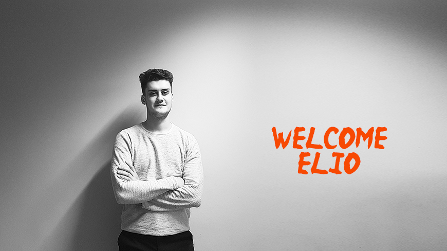 Meet Elio, joining our Social Media team