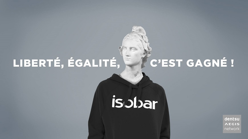 Isobar France wins the French government interdepartmental mutualized market for digital communication.