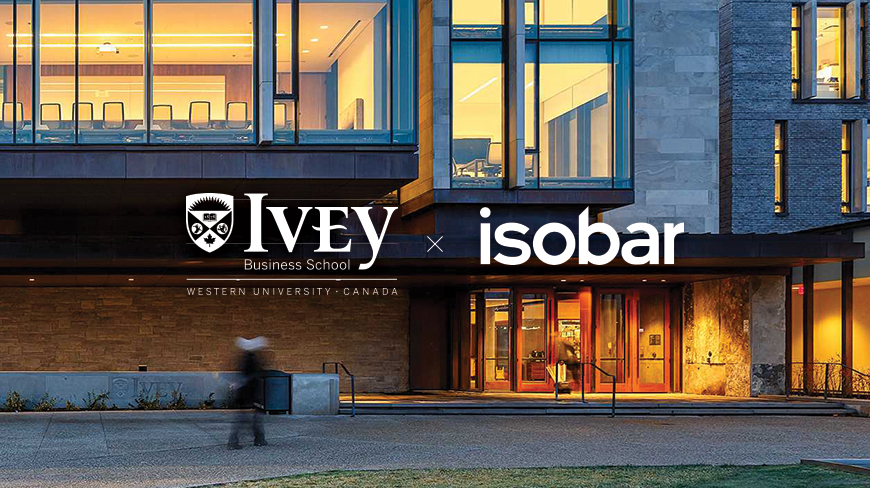 Ivey Business School and Isobar Launch Design Thinking Program