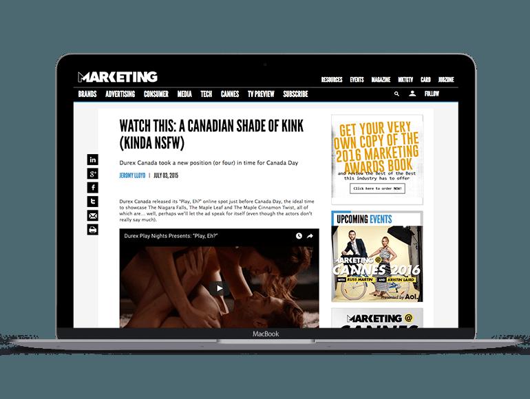 Reckitt Benckiser Canada - Durex Playnights