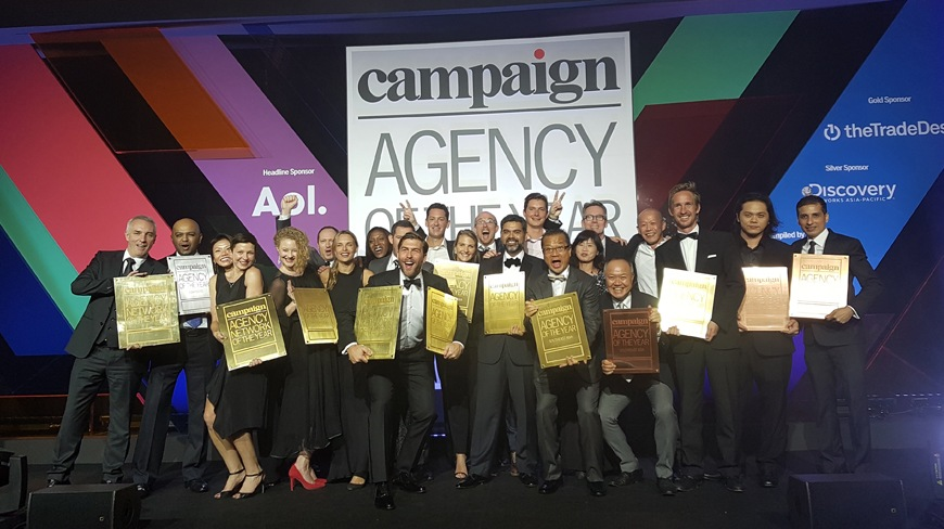 Isobar APAC Wins Digital Agency Network Of The Year