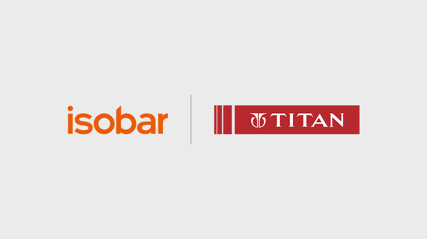Isobar bags global digital mandate for Titan Company Limited