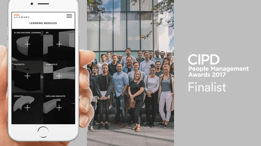 Isobar named a Finalist in CIPD Awards