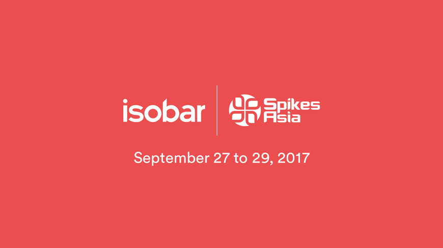Isobar to discuss Experiential Tech, Disruptive Innovation and Diversity at Spikes Asia