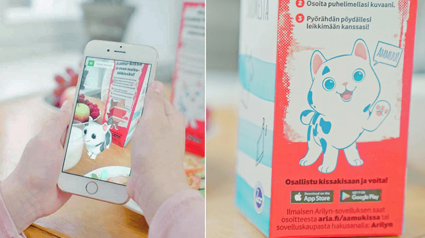 Isobar and Arla launch new AR campaign to get kids excited about milk