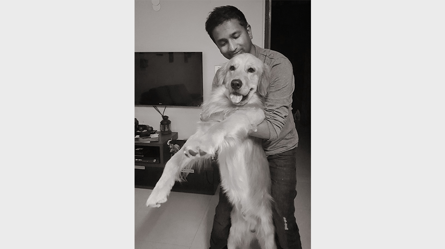 E4mChillout: Isobar India's Gopa Kumar Finds Weekend Solace In Pets, Netflix And Reading
