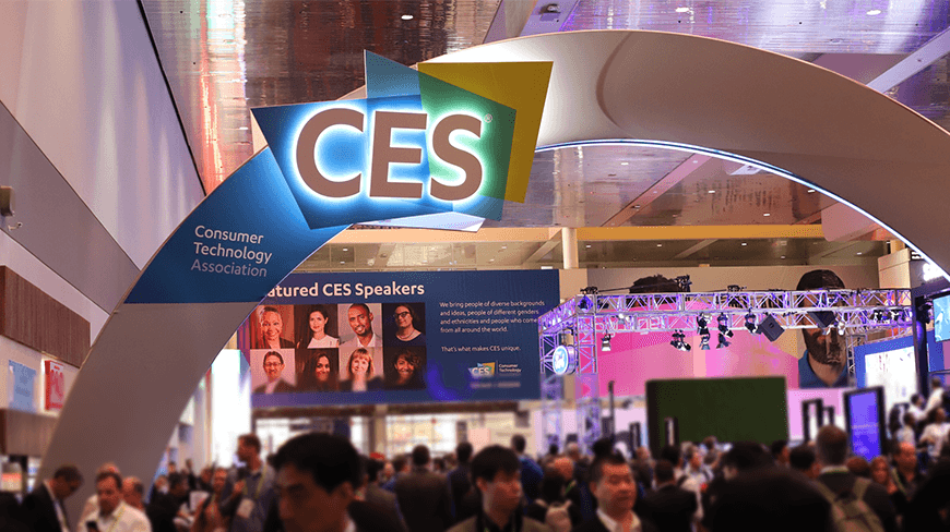 On The CES 2018 Show Floor, The Technology Is Always Listening