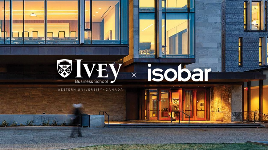 Ivey Business School and Isobar Launch Design Thinking