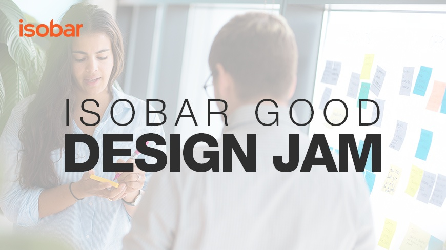 Competition: Solve your business' design challenges in partnership with Isobar Good