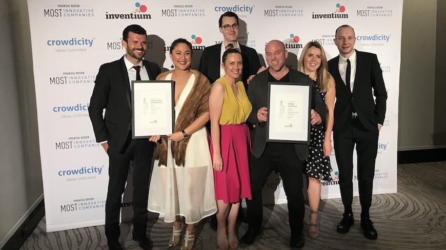 Isobar recognised as one of Australia's most innovative companies at prestigious awards ceremony