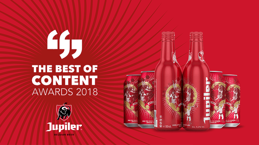 Isobar win awards with Jupiler campaigns