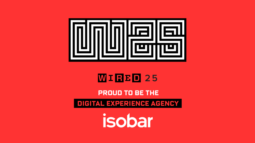 Isobar to Serve as Digital Experience Agency for WIRED25