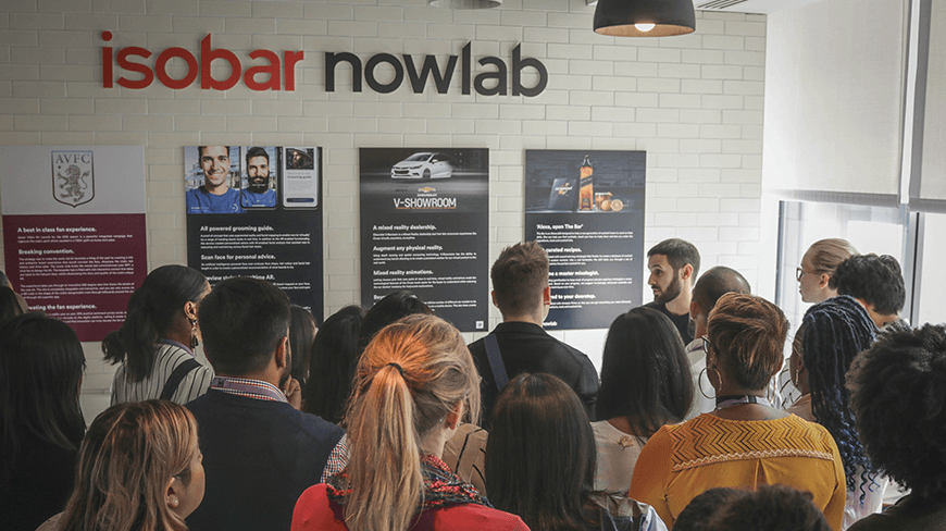 Isobar Global CEO welcomes Northwestern University to Isobar UK