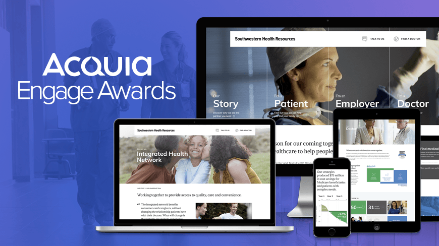 Isobar Wins 2018 Acquia Engage Award for Southwestern Health Resources Work