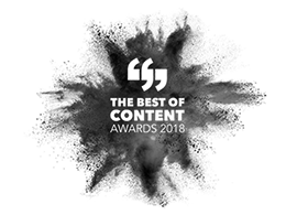 Winner, 2018 Best of Content Awards
