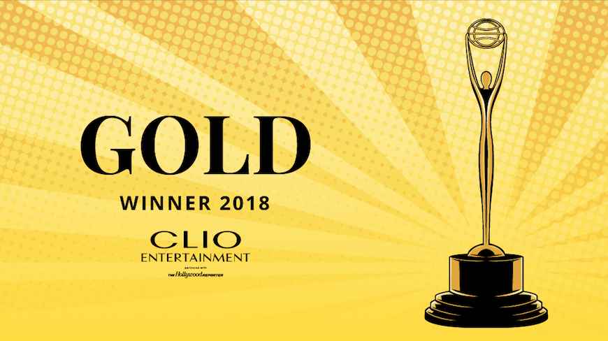 Isobar takes gold and silver at international Clio Entertainment Awards