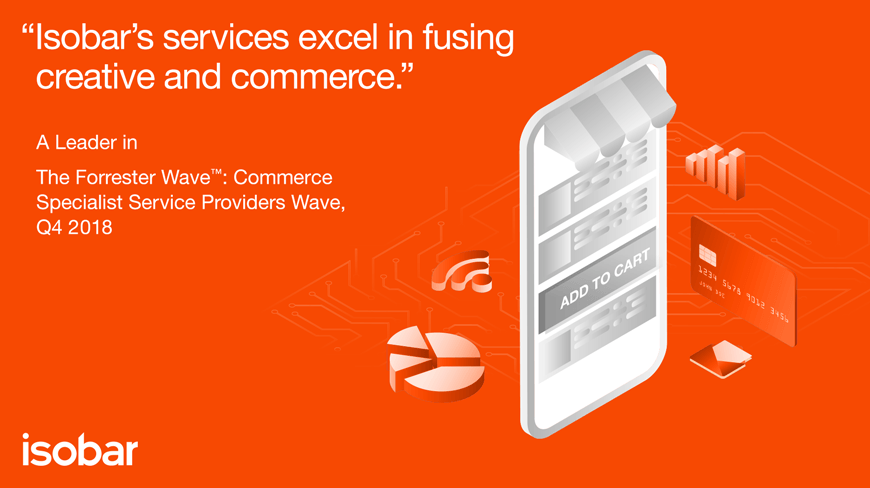 Isobar named as a Leader among Commerce Specialist Service Providers