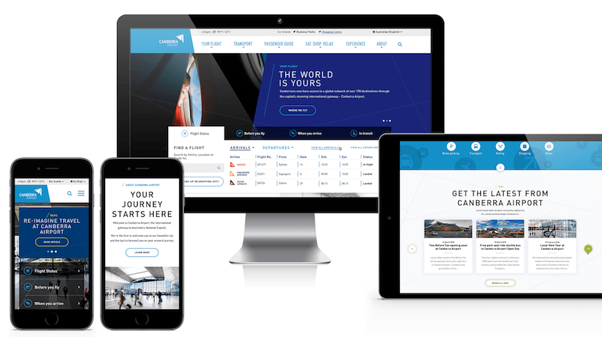 Isobar extends Capital Airport Group's award-winning customer experience by bridging physical and digital experiences