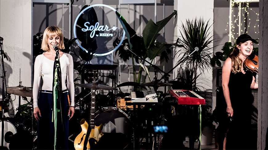 The Sofar by Redd`s concert — a feast for the ears, soul and palate