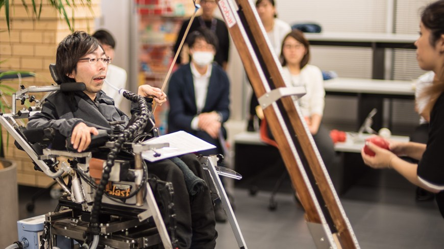 Japan Boccia Association Designates Dentsu Isobar Athlete
