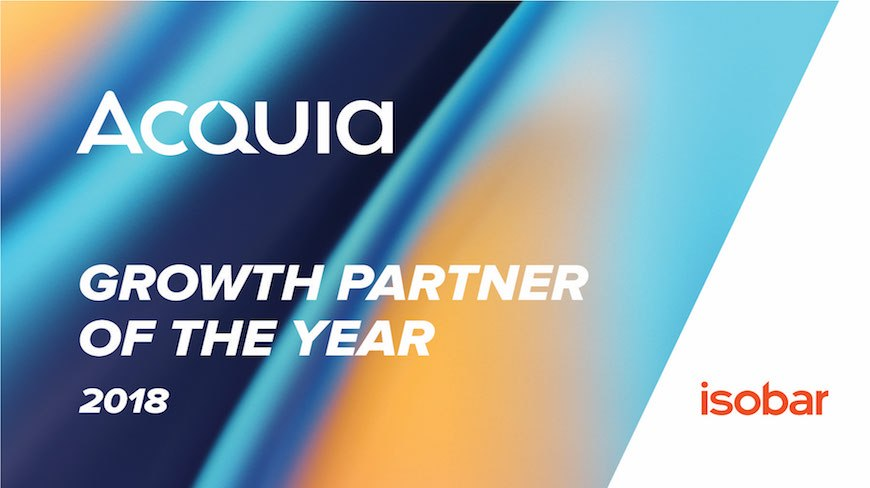 Isobar designated Acquia Growth Partner of the Year for EMEA