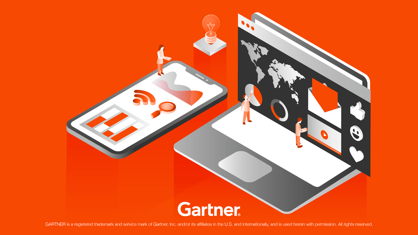 "Isobar erneut führend im ""Gartner 2019 Magic Quadrant"" Ranking für globale Marketingagenturen"