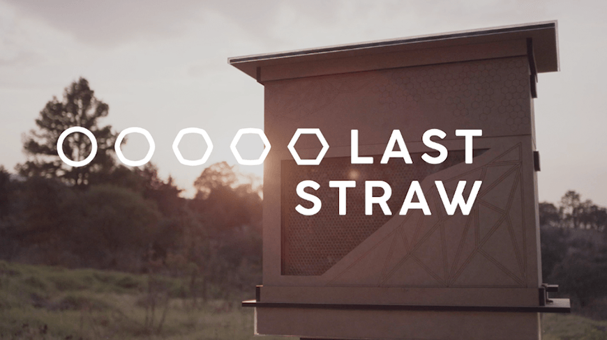 'Last Straw' Product Innovation Turns Used Straws Into Bee Hives