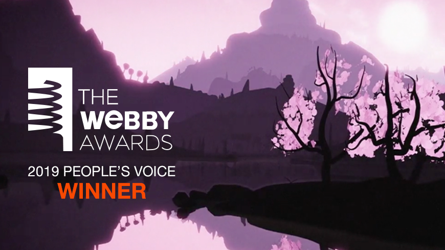 Aeronaut Wins Webby People's Voice Award