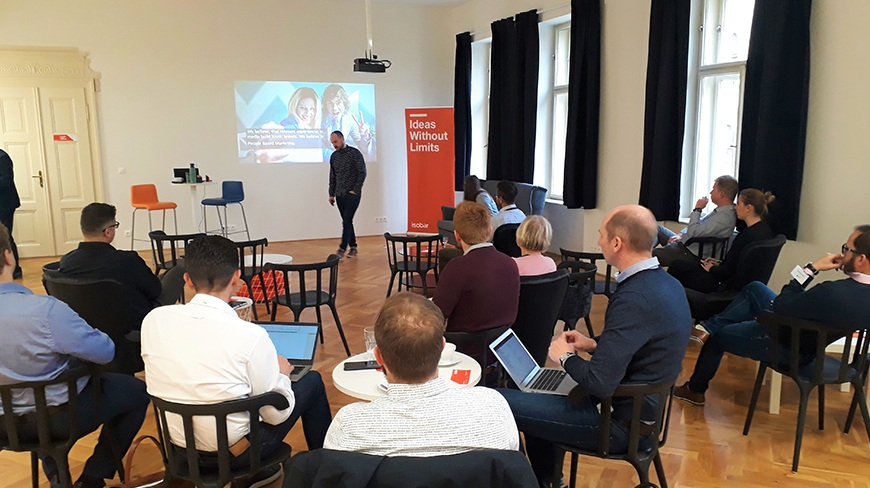 Customer loyalty: Isobar's Business Breakfast in Prague