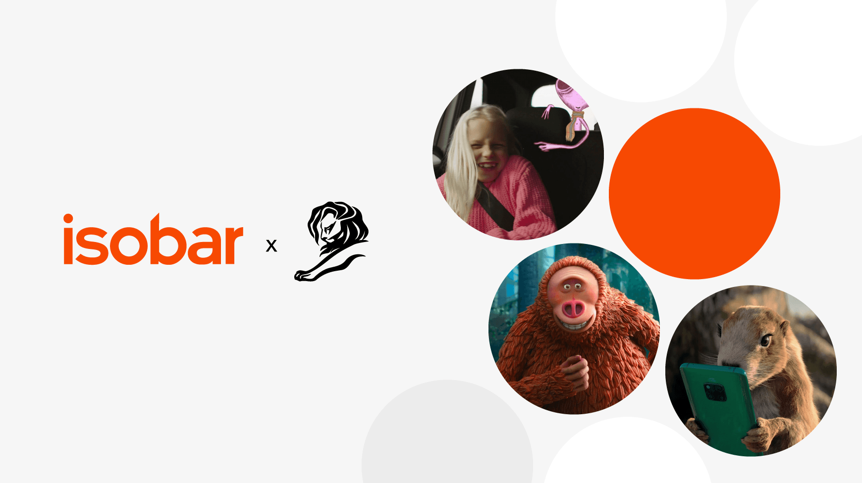 Isobar's Cannes Lion Award Contenders 2019